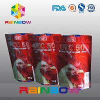 China Stand Up Pet Food Pouch With Zipper / Plastic Food Grade Animal Tukey Food Bag wholesale