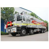 Quality ISO Concrete Pump Lorry with ISUZU chassis 47m , truck mounted pump for sale