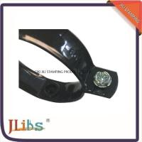 China Plated Black Color 60mm Size Pipe Wall Clamp With Drop Forged Technology wholesale