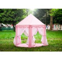 China Pvc Pole Childrens Play Tent Indoor Clean Room Princess Castle Tent House wholesale