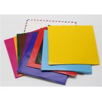 China SGS Standard Gumming Sheet A4 Size , Matt DIY Pre Cut Tissue Paper Squares wholesale