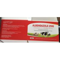 China Albendazole 300MG 2500MG Veterinary Tablets Granular Antibiotic Drug wholesale