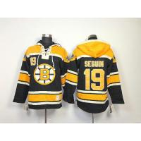 Quality NHL Boston Bruins 19 Tyler Seguin Black Hoodies Jersey Old Time Hockey for sale