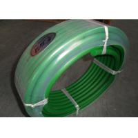 China Green color hardness 85A transmission belting and Polyurethane round belt poly cord wholesale