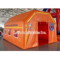 Buy cheap Water - Resistant PVC Inflatable Medical Tent Event Rescue Station Tent from wholesalers