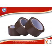 China Heavy Duty Shipping Brown BOPP Packing Tape , Carton Packaging Tape wholesale