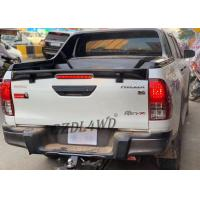 China Toyota Hilux Revo Rear Spoiler Aftermarket Accessories / Black Car Spoilers wholesale