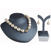 China Champagne Baroque Pearl Necklace With Magnetic Clasp , Antique Pearl Necklace on sale