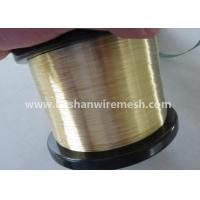 China Bashan Soft EDM Brass Wire 0.1-0.3mm For EDM Wire Cut Machine wholesale