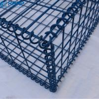 China 0.7x0.5x0.5m Landscape And Wall Welded Mesh Gabion Baskets on sale