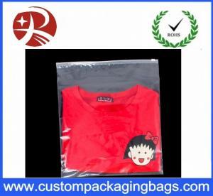 China Multi size Clothing zip lock plastic bags , Eva Transparent ziplock plastic bags wholesale