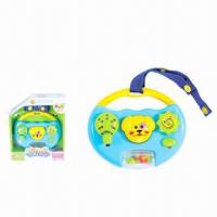 China Cartoon Toy with Music and Light, Ideal for Babies wholesale