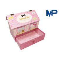 China Customizable Printing pink Recycled Paper Gift Boxes for wedding wholesale
