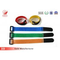 China Colored Plastic Hook Loop Straps For Watch Band , Heavy Duty on sale