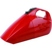 China Red Handheld Car Vacuum Cleaner for House 12V DC cigarette lighter wholesale