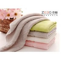China Dyed Color Jacquard Hand Towel Sets , Luxury Hotel Collection Towels wholesale
