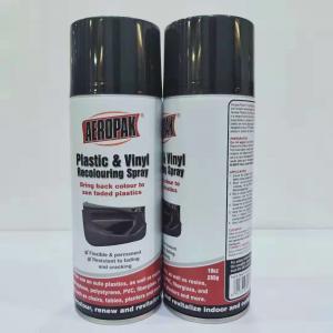 China 400ml Quick Dry Spray Paint , Automotive Aerosol Paint Direct To Plastic wholesale
