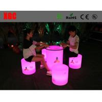 China Colorful RGB LED Coffee Table Light Weight Anti Water With Lithium Battery wholesale
