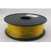 Quality Yellow T-Glass 3.0mm 3D Printing Material Filament For Creation Field OEM for sale