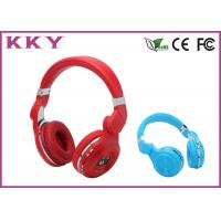 China Red / Blue Splendid Apple IPhone On Ear Bluetooth Headset For Music Lover wholesale