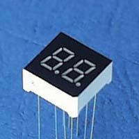 China 7 Segment LCD Display with -25 to 75 degree Celsius of Storage Temperature wholesale