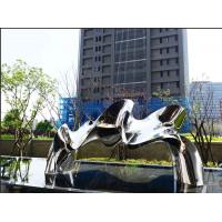Buy cheap Polished Mirror Stainless Steel Outdoor Sculpture For Public Decoration from wholesalers