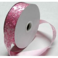 China Personalised 32mm x 90y Printed Red Ribbon Roll / reel for Gift , Balloon wholesale