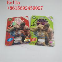 China 3d Holographic Effect Card with Gold Rhino Container Bullet for pill  Male Enhancement Capsule Packaging wholesale