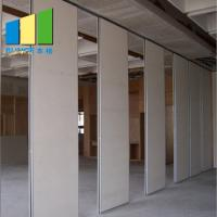 China Soundproof Operable Wall Partition With Doors For School / Hotel / Dance Studio on sale