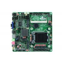 China Intel® H61 Chipset ultra thin all in one pc Motherboard 6COM , 9USB2.0 ,VGA HDMI LVDS display wholesale
