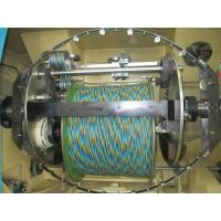 Double Twist Buncher Bare Copper Wire Twister Machine With Computer Control
