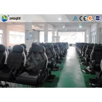 China Unforgottable Experience 6D Cinema Equipment With Customized  Decoration Seats wholesale