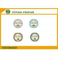 China Valentino Poker Room Ceramic Poker Chips , Early Casino Poker Chip wholesale