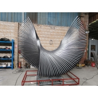 Buy cheap Decorative Folding Outdoor Modern Sculptures 304 Gray Outdoor Iron Sculptures from wholesalers