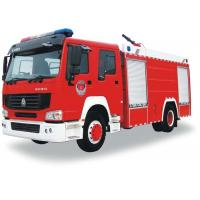 China Fire Fighting Truck SINOTRUK HOWO 8-12CBM 266HP for Fire control or Sprinkling wholesale