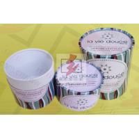 China Round Food Packaging Containers / Cardboard Cylinder Boxes Packaging wholesale