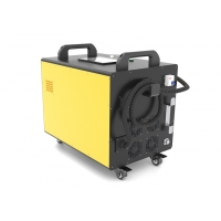 China 100W Fiber Handheld Laser Paint and Rust Remov Metal Stainless Steel Fiber Laser Cleaning Machine wholesale