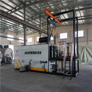 China Q235B Steel Bitumen Decanting Machine Easy Transfer For Asphalt Mixer Plant wholesale