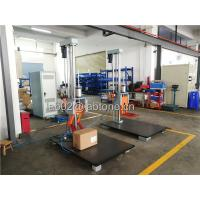 China Drop Height 150 Cm Packaging Drop Test Machine Steel base 100 x 150 Cm on sale