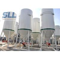 China Different Volumes Mobile Cement Silo / Bulk Cement Storage System 3-10T wholesale