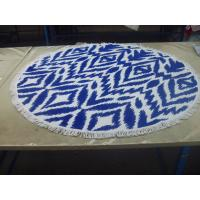 China Factory supply Cheap Price Small MOQ 100% cotton  turkish round beach towel wholesale