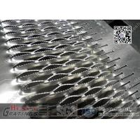 China Antiskid Safety Perforated Mesh Grating Crocodile Safety Grating China Supplier wholesale