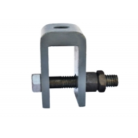 China Q235 508mm Shift Spring Hanger Supports Connecting U-Shaped Ears wholesale