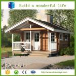 China 2018 export low cost light steel sandwich panel solar prefab villa house wholesale