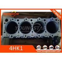 China ISUZU 4HK1 Engine Cylinder Block , HITACHI Excavator 4 cylinder engine block 8-98204528-0 wholesale