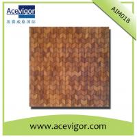 China Arrow shape solid wood mosaic tiles for indoor wall decoration wholesale