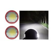 China High Intensity 225W Round 9 Inch Driving Lights With Spot / Flood Covers wholesale