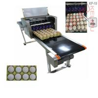 China Poultry Husbandry Egg Inkjet Marking Machine With 1mm - 9mm Printing Word Height wholesale