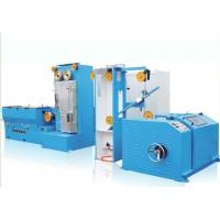China JDT-13D Copper Medium Wire Drawing Machine With Online Annealing Gear Type wholesale