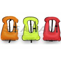 China 420D Nylon Urethane Coated Safety Water Sports Equipment Adult Snorkeling Vest wholesale